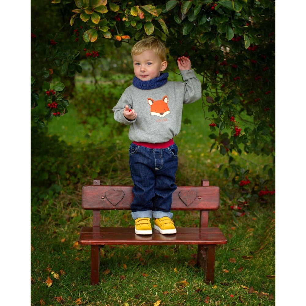 Little Cub Fox Long Sleeved T-Shirt