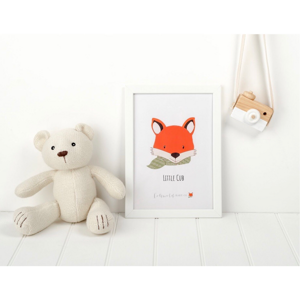 little cub print - cotswold baby co