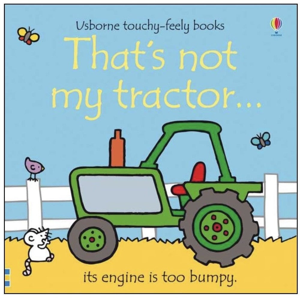 That's not my tractor ...