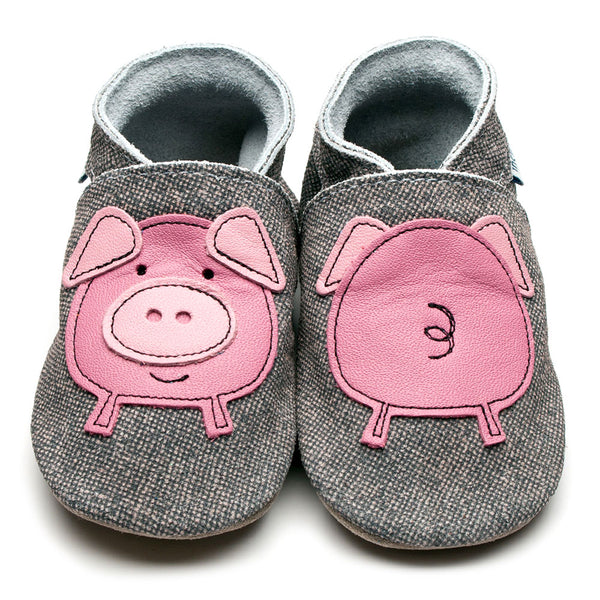 Piggy Leather Shoes