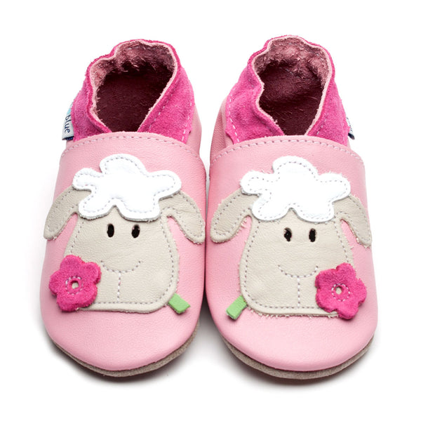 Pink Sheep Leather Shoes