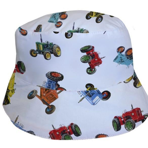 tractor summer hat - cotswold baby co