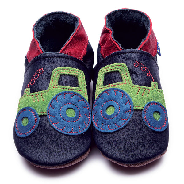 Leather Baby Tractor Shoes - Cotswold Baby Co