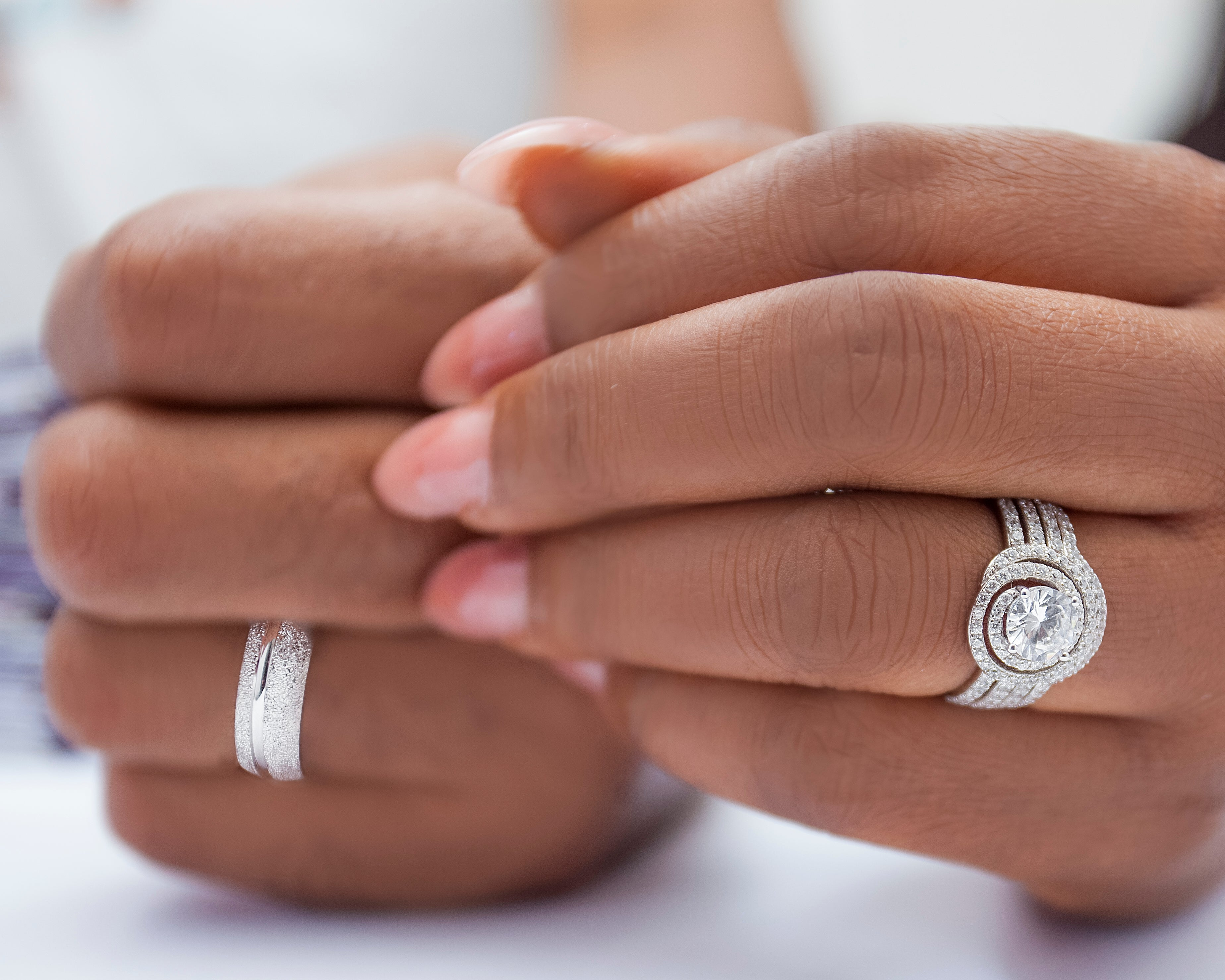 What is symbolic about the marriage finger