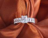 Alero Sterling Silver Engagement Ring