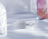 Darlene 18Karat White Gold Wedding Band
