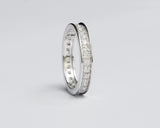 Eternity 18Karat White Gold Wedding Band