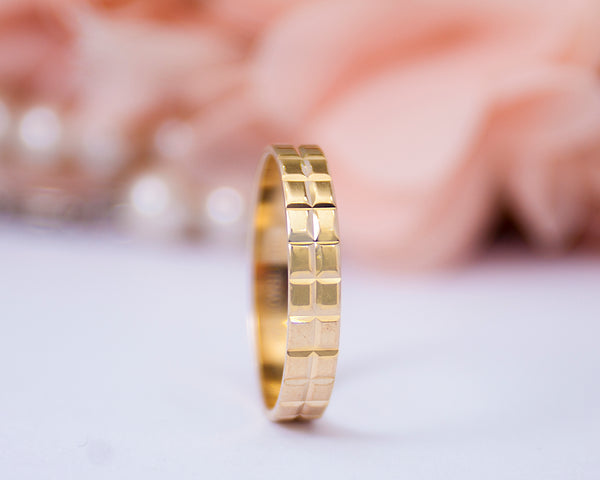 Philix 18Karat Yellow Gold Wedding Band