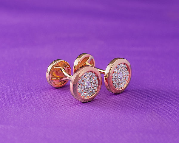 Diamond Cufflinks