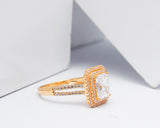 18Karat Yellow Gold Engagement Ring