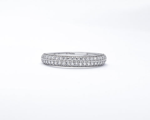 JUAN 18KARAT WHITE GOLD WEDDING BAND
