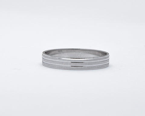 DYLAN STERLING SILVER WEDDING BAND