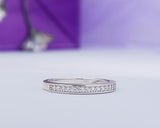 Sterling Silver Wedding Band, Proposal Ring, Wedding Ring
