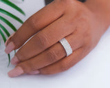 Sterling Silver Wedding Band, Wedding Ring