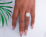 Michelle Sterling Silver Engagement Ring