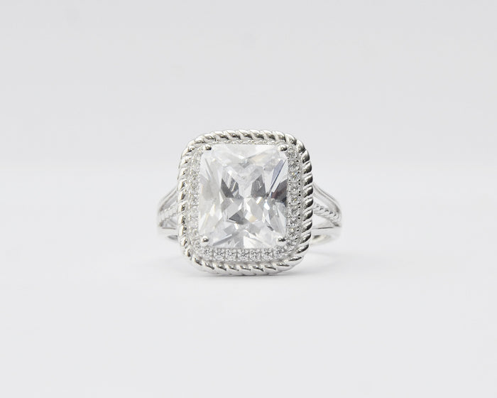 Maryanne Sterling Silver Engagement Ring