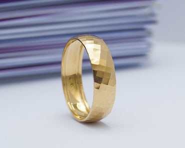 Merlin 18Karat Yellow Gold Wedding Band