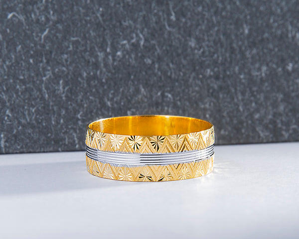18Karat Gold Wedding Band