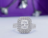 Bold Michelle 18Karat White Gold Engagement Ring