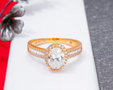 18Karat Gold Engagement Ring, Proposal Ring, Wedding Ring