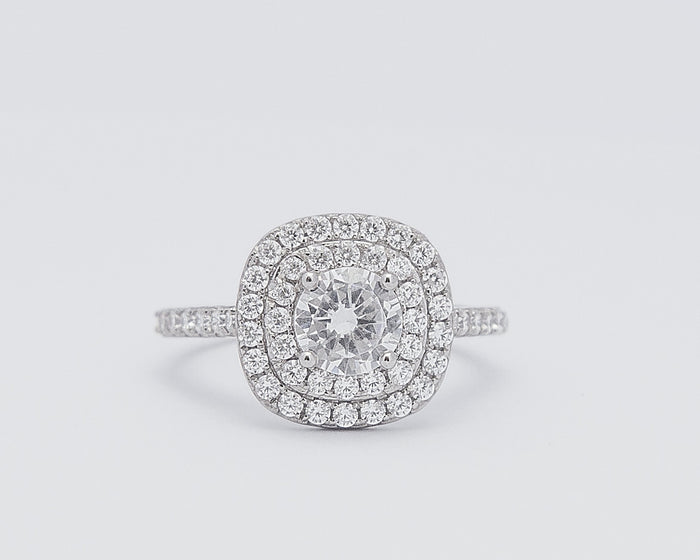 Sophie 18Karat White Gold Engagement Ring