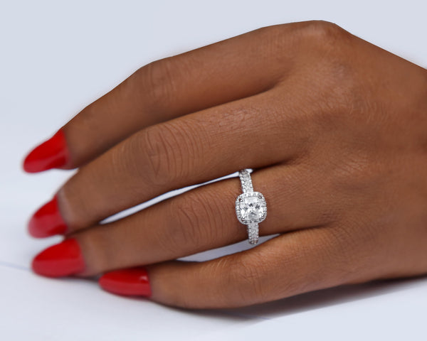 Tayo Sterling Silver Engagement Ring