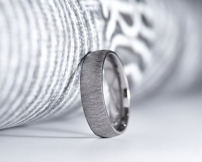 Tony Titanium Wedding Band