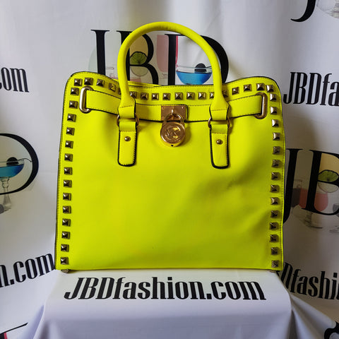 Tamara Bright Yellow Oversized Bag