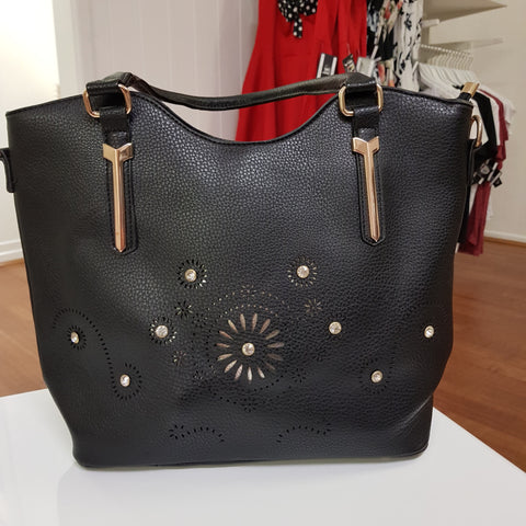 Bayner Large Embellished Handbag