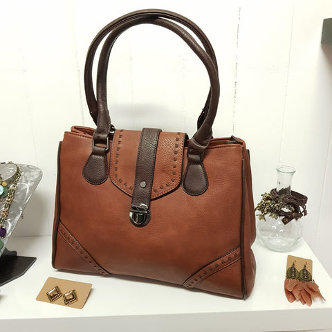 Walker Oversize Boho Handbag brown