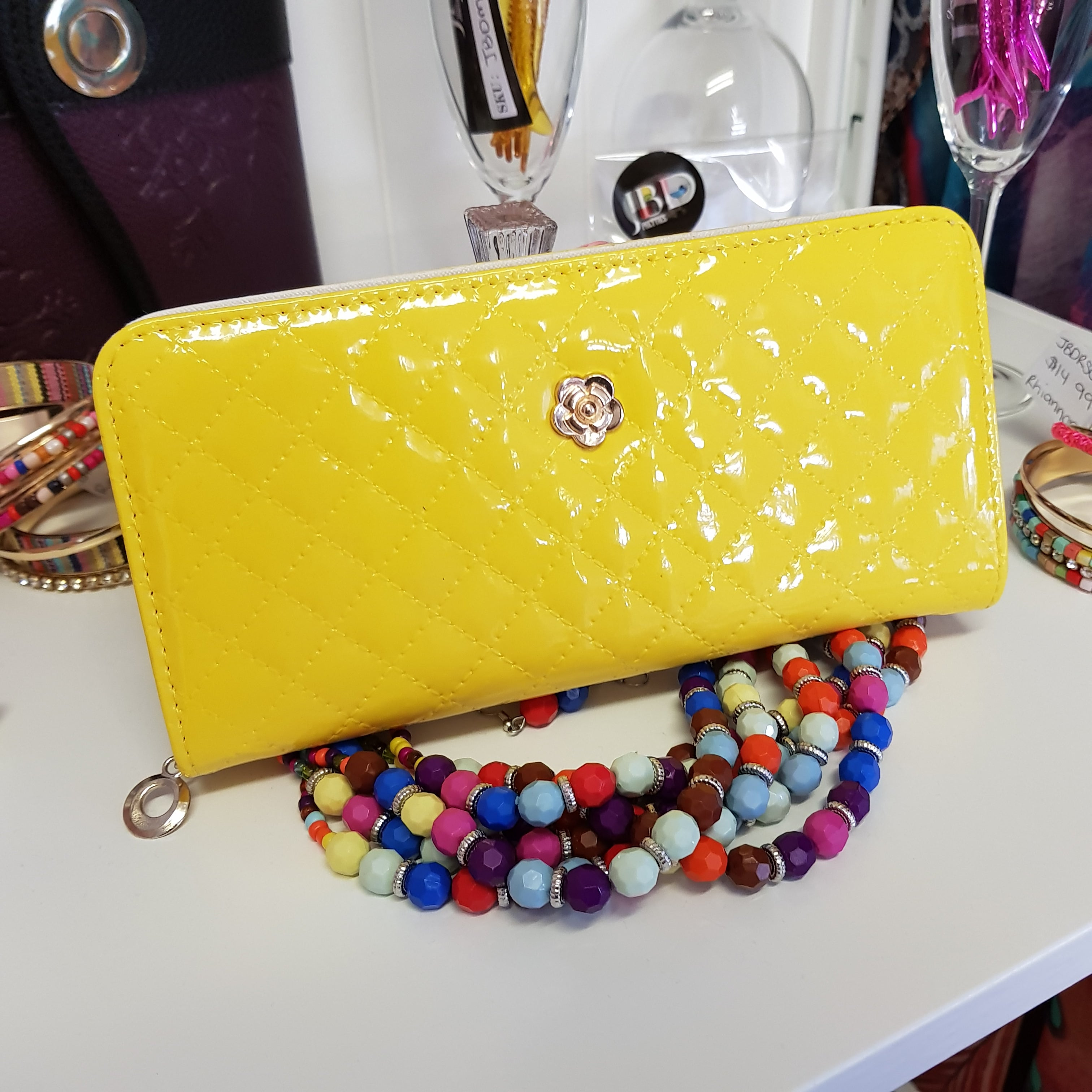 Tarni Yellow Wallet
