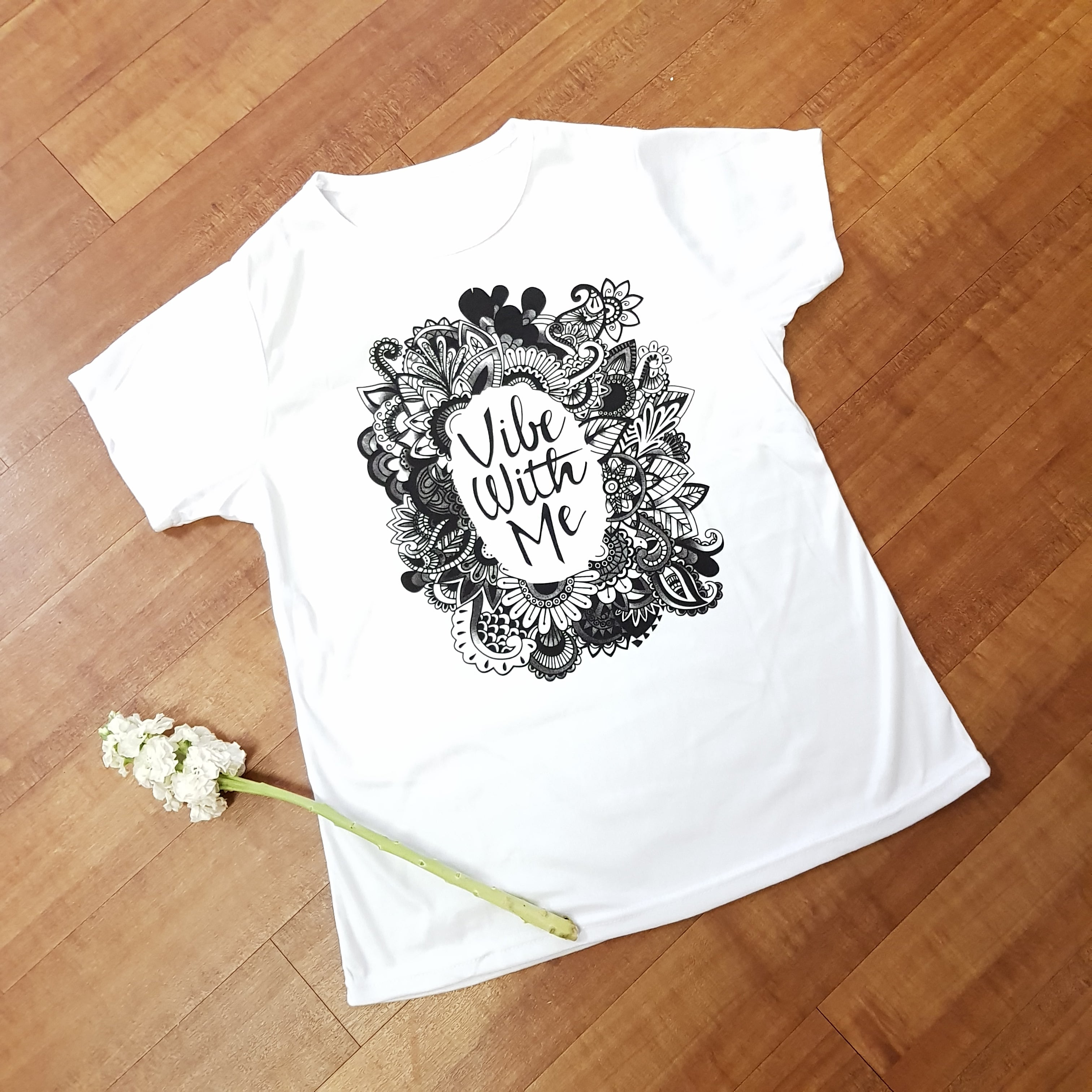 Reduced To Clear - Vibe With Me T-Shirt - JBD