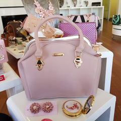 Jasper Blush Pink Large Handbag