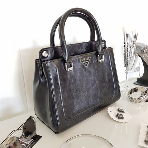 Mayka Black Tote Bag