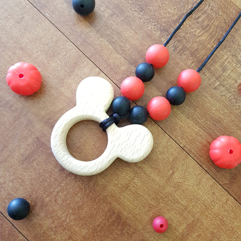 Mickey Teething Necklace