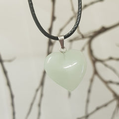 Jade Heart Necklace - JBD