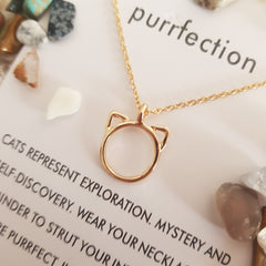 Purrfection Necklace - JBD
