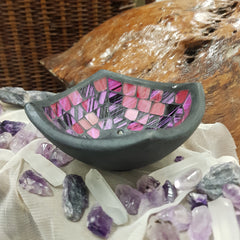 Incense Burner Square - Pinky Purple - JBD
