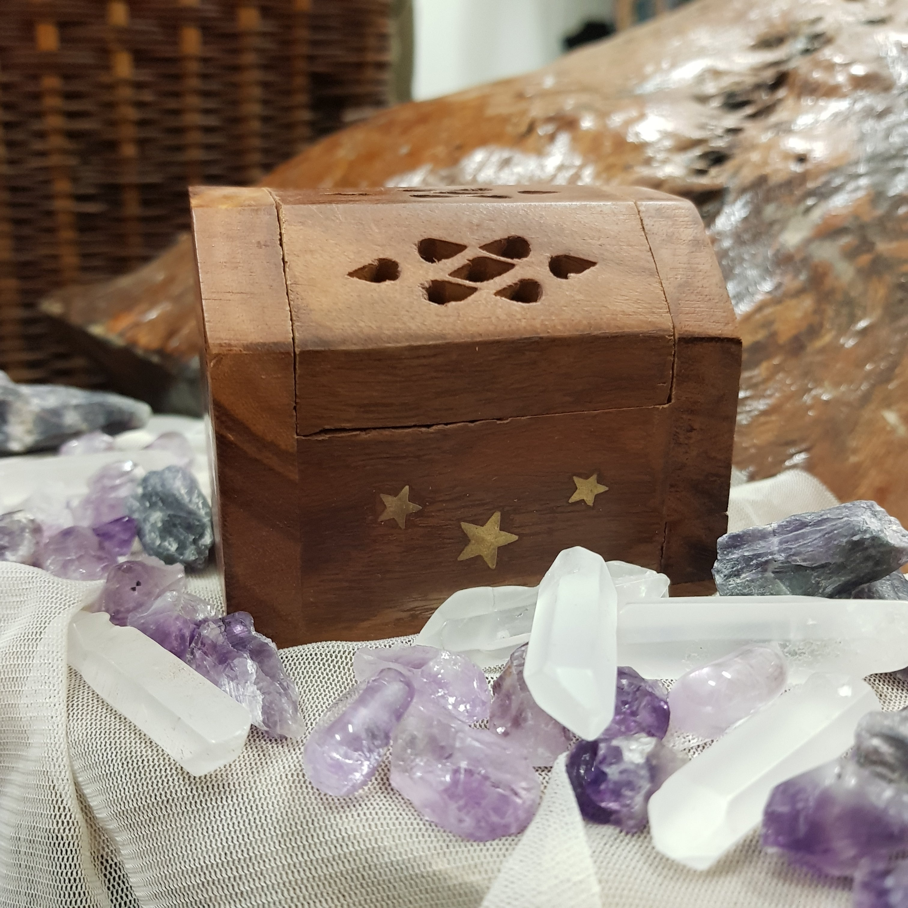 Incense Cone Burner Box - JBD