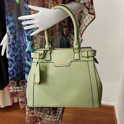 Ivonne Light Green Tote bag