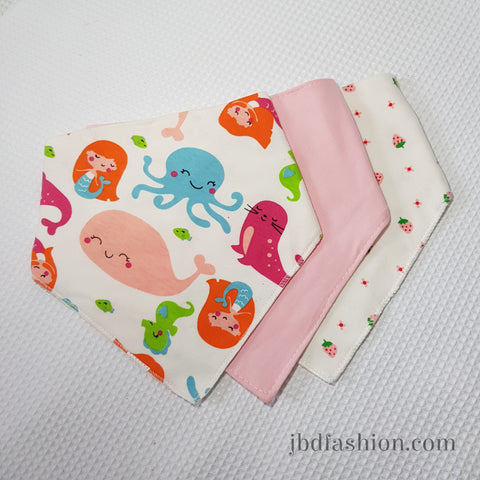 Bandana Bib Set of 3 - JBD