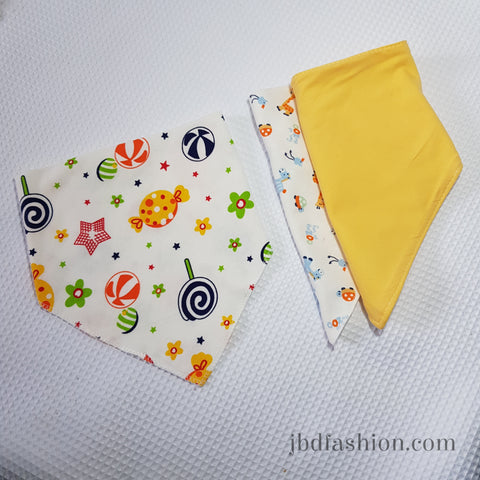 SALE - Bandana Bib Set of 3