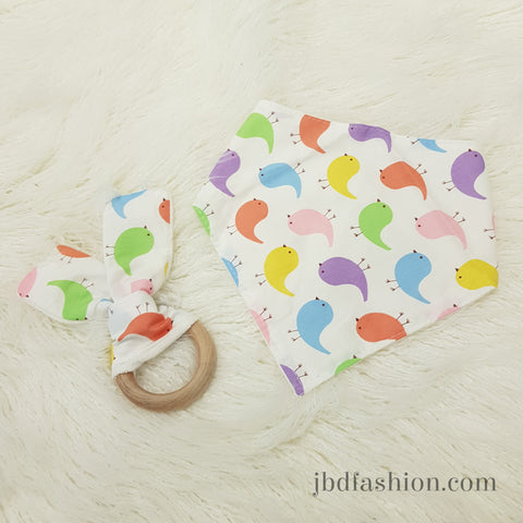 Bib and Teething Chew Combo - JBD