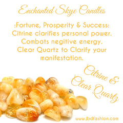 Enchanted Skye Candle - Fortune, Prosperity & Success - JBD