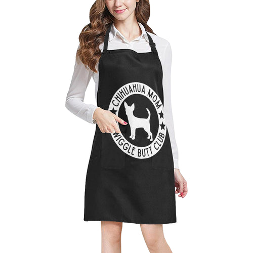 Chihuahua Mom Wiggle Butt Club Apron