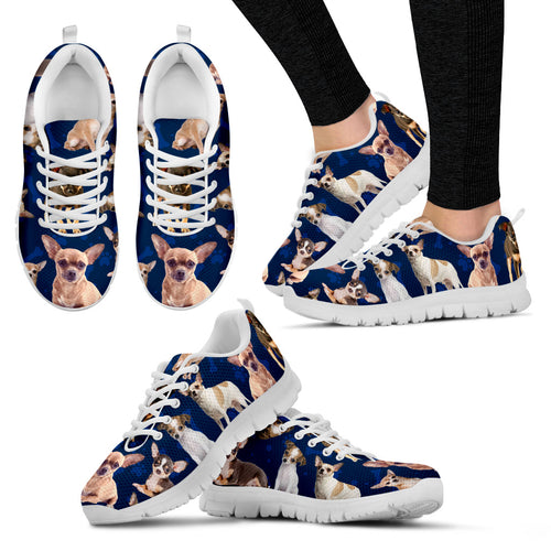 Chihuahua Breed Women's Sneakers