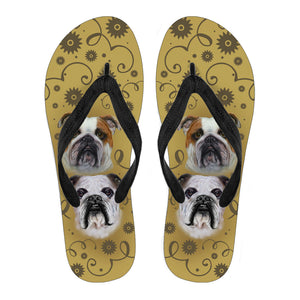 Bulldog Breed Women's Flip Flops