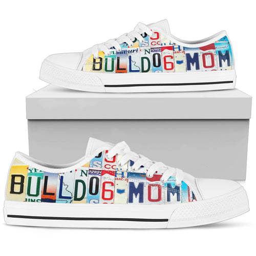 Bulldog Mom Low Top Sneakers