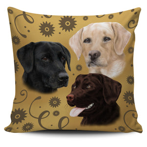 Lab Breed Pillow Cover