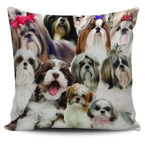 Shih Tzu Lover Pillow Cover